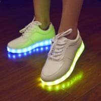 HoverKicks LED Women Luminous Shoes