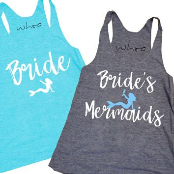 Mermaid Bride / Bride's Mermaids Tank