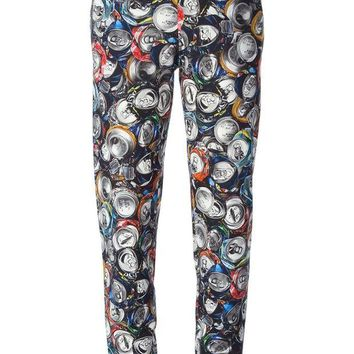 DCCKIN3 Moschino soda can track pant