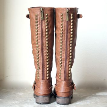 Paige Tall Women Studded Riding Boots   More Colors