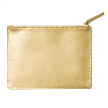Russell + Hazel Gold Mini Clutch