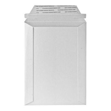 "Quality Park Products Photo-Document Mailer,24 Pt.,6""x8"",25-BX,White - CASE OF 2"