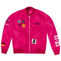 Club Foreign Germany Racing Jacket Pink