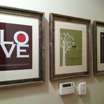 Love 1 Corinthians 13 Print  Custom Love Bird Family by karimachal