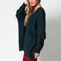 Lace Up Deep V Neck Knitted Women Sweaters And Pullovers Long Sleeve Hollow Out Winter Casual Sweater Jumpers Knitwear