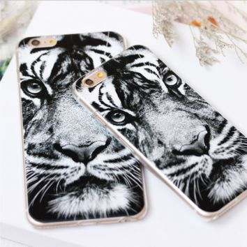 Unique Cool Tiger Iphone 7 7 plus 6 6s plus 5 5s Cover Case Best Gift 005
