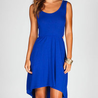 FULL TILT Cut Out Hi Low Tank Dress