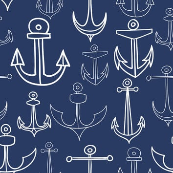 Anchors Aweigh Removable Wallpaper