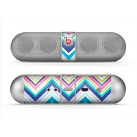 The Vibrant Colored Chevron Pattern V3 Skin for the Beats by Dre Pill Bluetooth Speaker