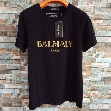 """BALMAIN""Hot letters print T-shirt top"