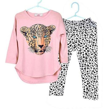 Children Clothing Set 2018 Winter Autumn Toddler Girls Clothes Tshirt+Pant Sport Suit For Girls Fall Baby Kids Clothes 10 Years