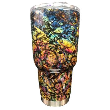 Oil Slick/Insanity Tumbler Warehouse Tumbler