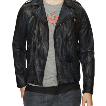 Lerfecto Motorcycle Leather Jacket
