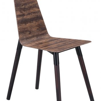Ignore Dining Chair Distressed Brown
