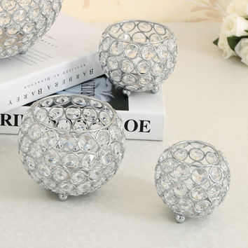 candle holders  crystal candlestick candle lantern candelabra crystal candle holder home decorative wedding party decoration