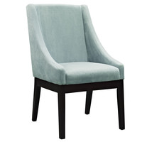 Tide Wood Dining Chair in Light Blue