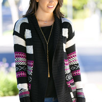 Aztec Adventure Knit Cardigan