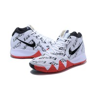 Best Deal Online Nike Kyrie Irving 4 BHM BLACK HISTORY MONTH Women Shoes