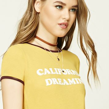 California Dreaming Ringer Tee