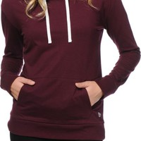 Aperture Billy Blackberry Cowl Neck Hoodie