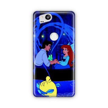 Ariel Little Mermaid Tattoo Google Pixel 3 XL Case | Casefantasy
