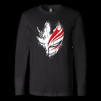 Bleach - Ichigo Mask - unisex long sleeve t shirt - TL00856LS