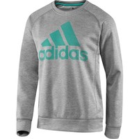 adidas Men's Team Issue Fleece Graphic Crew Sweatshirt | DICK'S Sporting Goods