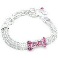 Crystal Dog Collar- Necklace For Pets, Puppy, Designer, Fancy Bling, Rhinestone, Jewelry, Acessories