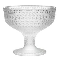 Kastehelmi Footed Bowl in Matt Frosted - Pop! Gift Boutique