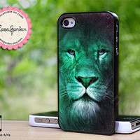 Mint Lion iPhone 4s Case, iPhone Case, iPhone Hard Case, iPhone 4 Cover, iPhone 4s Cover