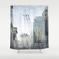 dream city Shower Curtain by Marianna Tankelevich