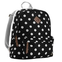 Madden Girl Skool Polka Dot Backpack