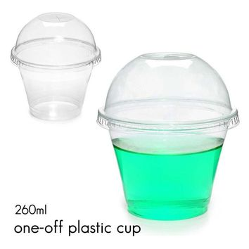 20pcs Children's Plastic Ice Cream Cup Disposable Summer Cold Drink Jelly Yogurt Water Cup Fruits Juice Cup