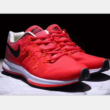NIKE AlR ZOOM PEGASUS MAN Sport shoes red-black hook H-PSXY