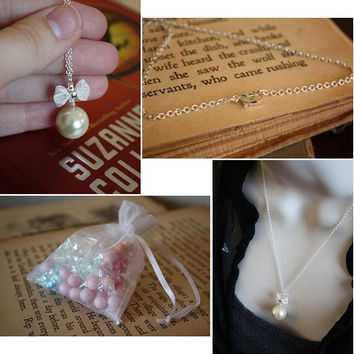 Pearl Necklace - June Birthday - June Birthstone - Simple Pearl Necklace