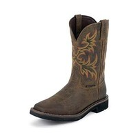 Justin WK4689 Rugged Tan Cowhide Waterproof Men's Boots