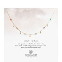 Dogeared Love Necklace, 16"