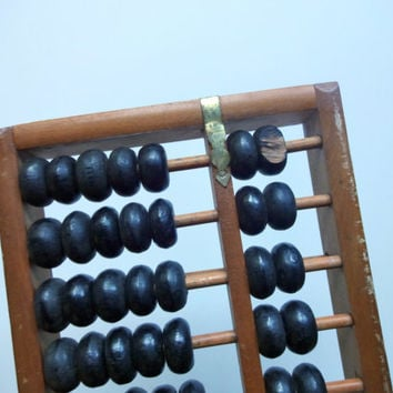 Vintage Chinese Abacus 1950s