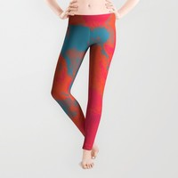 Pixelated Leggings by duckyb