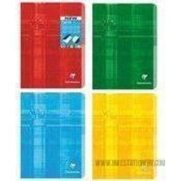 """Classic Notebooks Side Staplebound Twinbook Two Subjects 8 1/4 x 11 3/4"""" [Clairefontaine]"""