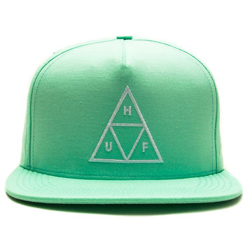 HUF - Triple Triangle Snapback Cap (Mint)