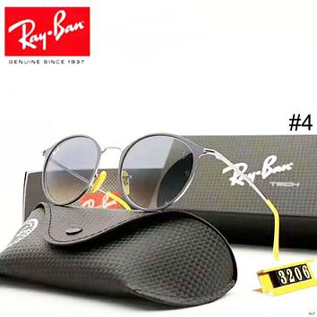 RayBan 2018 new trend driving polarized driving retro sunglasses #4