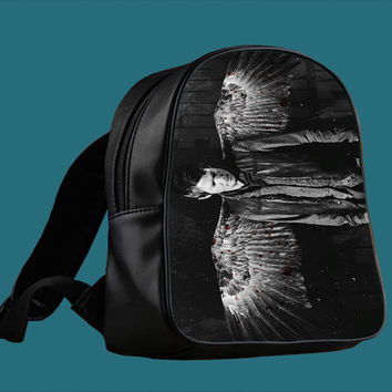 The Walking Dead Daryl Dixon Angel Wing for Backpack / Custom Bag / School Bag / Children Bag / Custom School Bag *