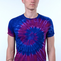 Hippie Retro Vintage 90's Festival Style Clothing Indie Tie Dye T-shirt