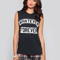 Whatever Forever Muscle Tank - What's New | GYPSY WARRIOR