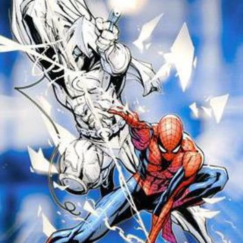 Vengeance of the Moon Knight #9 - Limited Edition Giclee on Canvas by J. Scott Campbell and Marvel Comics