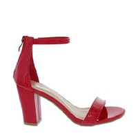 Ankle Strap Mid Chunky Heel