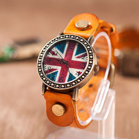 Trendy Gift Great Deal Designer's Awesome New Arrival Good Price Korean Vintage Leather Men Ladies Stylish Watch [4933060804]