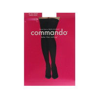 Commando Womens Up All Night Opaque 70-Denier Thigh-High Stockings