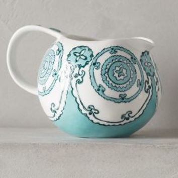 Gloriosa Creamer by Anthropologie in Mint Size: Creamer Serveware